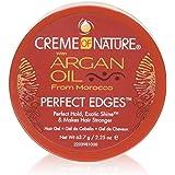 Creme Of Nature Argan Oil Perfect Edges Control 2.25 Ounce Jar (66ml) (2 Pack)