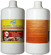 Cleansol Pinex (Pine Concentrate Disinfectant Cleaner) - 1 Ltr (Pack of 2)