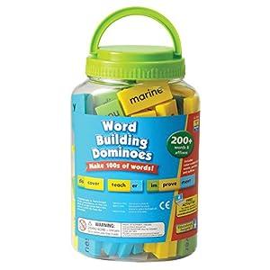 Educational Insights- Fichas de dominó para formar palabras de Learning Resources, Color EI-2944)