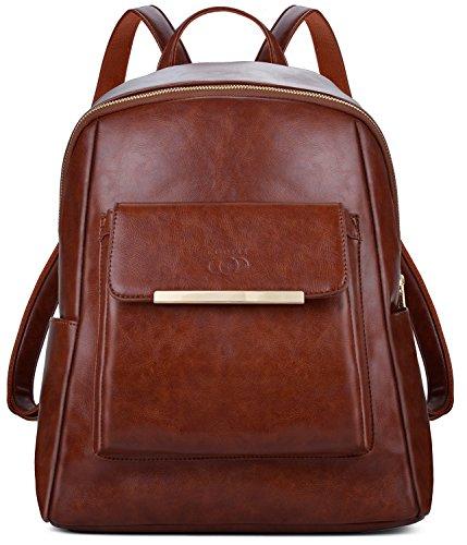 Damen Rucksack, Coofit Kleiner Rucksack Leder Rucksack Elegant Schulrucksack Rucksack Handtasche Daypack Schulranzen