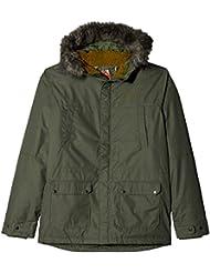 Columbia Snowfield Jacket Chaqueta de Esquí, Unisex Niños, Verde (Cypress Heather), M