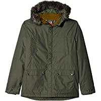 Columbia Snowfield Jacke Chaqueta, niñas, Verde (Cypress Heather), M