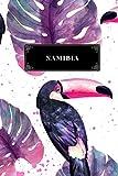 Namibia: Diario di viaggio - Libro per vacanze -Taccuino per scrivere se stessi - Per i ricordi di viaggio più belli - Diario di bordo - Un regalo perfetto per il tuo viaggio e per ogni viaggiatore