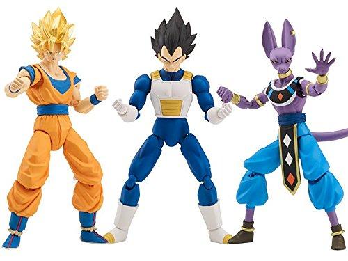 Dragon Ball Super Dragon Stars Series - Bills, Vegeta, Super Saiyan Goku