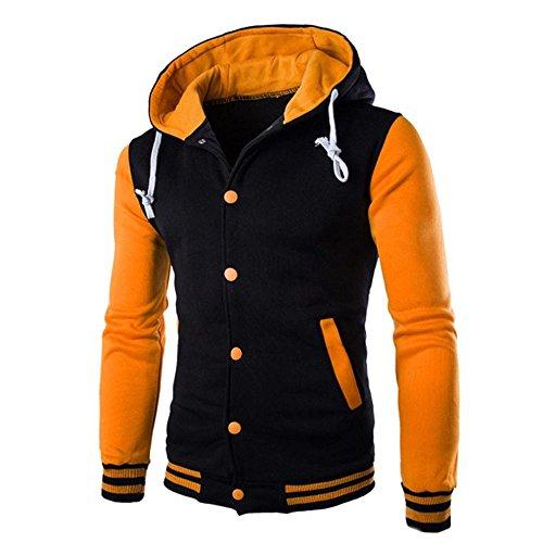 FRAUIT Herren Winterjacke Männer Mantel Jacke Outwear Pullover Winter Schlank Hoodie Mode Wunderschön Super Qualität Herbst Winter Warm Bequem Kleidung Top Outwear Coat100{f93103bcbe7bee3997c7ad7af69fa9c05650de6238369343eed0d7c9fa67fb53} Baumwolle