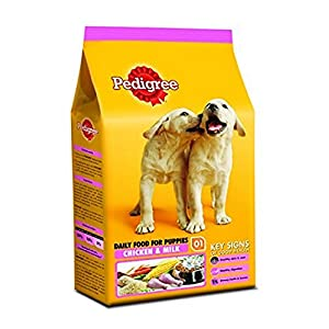 Pedigree Puppy Dog Food, Chicken and Milk