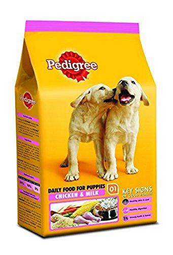 Pedigree Puppy Dog Food Chicken And Milk Dogs Food Pet
