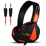 KKmoon Ovann X16 Gaming Kopfhörer | Professionellen Esport Ohrhörer | Stereo-Bass Headset in Ear...