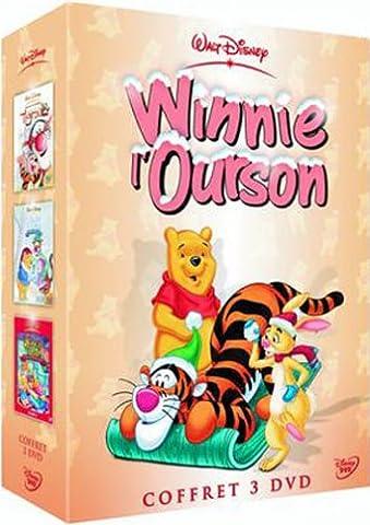 Coffret Winnie l'ourson 3 DVD : Les Aventures de Tigrou / Joyeux Noël / Le Monde magique de Winnie l'Ourson - Vol.2
