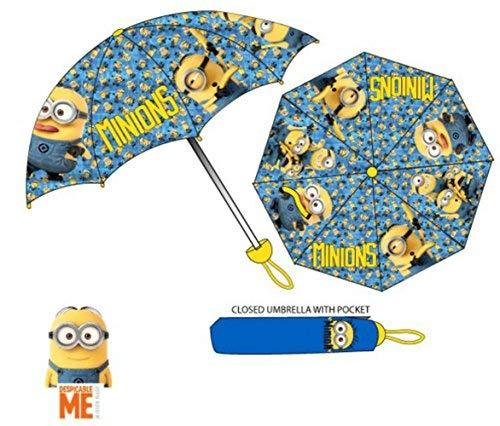 (Minions Ich einfach unverbesserlich Regenschirm faltbar mit Schutztasche)