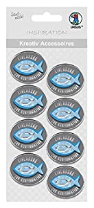 Ursus 564000350F creativos Accesorios Religión, Invitación a la Confirmación, 8Unidades, Color Azul