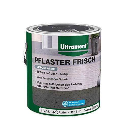 farbe fuer pflastersteine Ultrament Pflaster Frisch, anthrazit, 2,5l