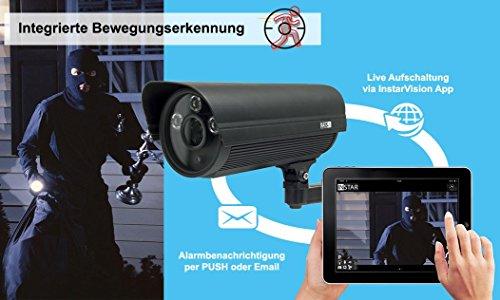 INSTAR IN-5907HD Wlan IP Kamera – HD Sicherheitskamera für Außen