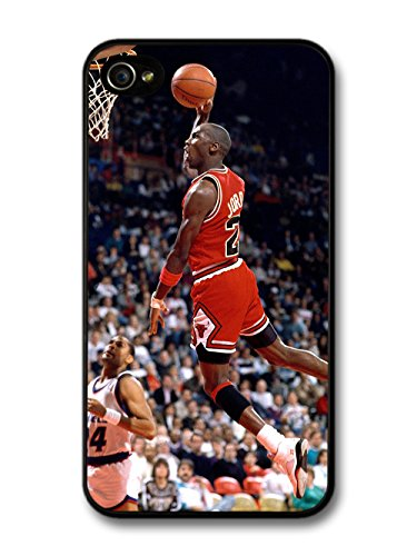 Michael Jordan MJ 23 Basketball In the Air hülle für iPhone 4 4S (Air 4s Jordan)