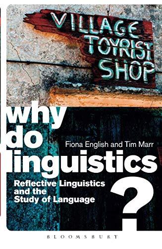 Why Do Linguistics? por Fiona English