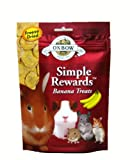 Oxbow SIMPLE REWARDS BANANA Small Animal Treats 1 oz
