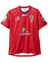 Queensland Reds 2014 - Maillot Réplique de Rugby Super 15 A Domicile Rouge