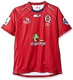 BLK Queensland Reds 2014 - Maillot Réplique de Rugby Super 15 A Domicile Rouge