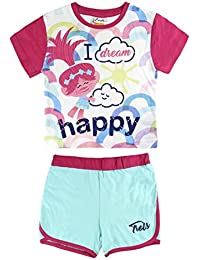 Trolls Poppy - Conjunto Pijama Manga Corta 2 piezas 100% algodón (3 ...