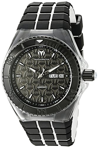 technomarine-mens-quartz-watch-with-black-dial-analogue-display-and-black-silicone-strap-tm-115182