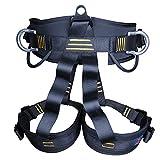 sharplace Heavy Duty Sicherheit Hälfte Body Klettern Bergsteigen Baum Chirurg Downhill Protection Hundegeschirr sitzend Brustumfang Gürtel