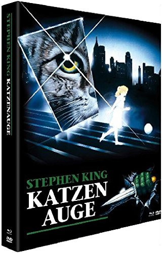 Stephen Kings: Katzenauge - Mediabook (+ DVD) [Blu-ray]