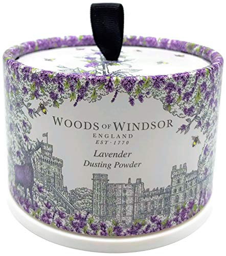 Woods of Windsor Lavender Talc Corporel 100 g
