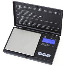 KKmoon Mini Digital Escala del Bolsillo Escala de la Joyería Oro Diamante Escala Escala de Gramo 100g * 0.01g LCD