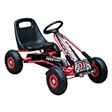 HOMCOM Kids Children Pedal Go Kart Cart Air Inflatable Tyres Motor Racing Style