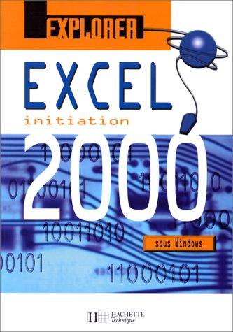 Explorer Excel 2000. Elève
