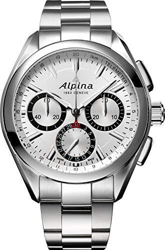 Alpina Geneve Alpiner 4 Flyback Chronograph AL-760SB5AQ6B Cronografo automatico uomo Calibro di manifattura