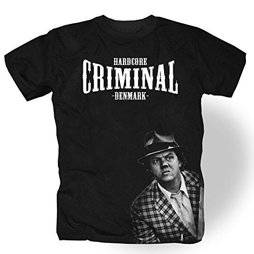 Hardcore Criminal T-Shirt -Benny, Schwarz, (L)