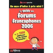Guide des Forums francophones 2006