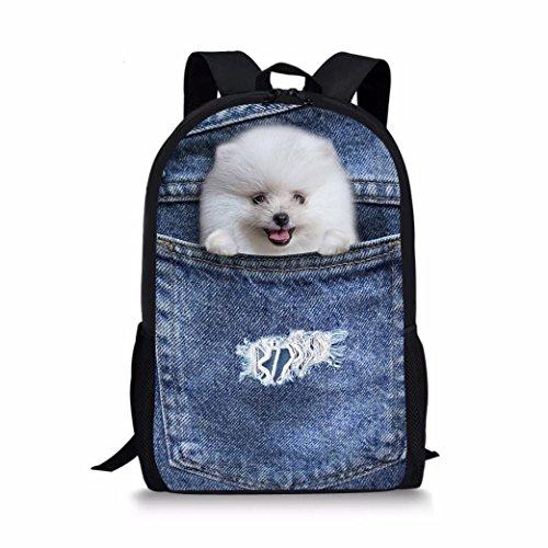 Imagen de 3d animal imprimir perro perro bolsas de hombro,  de la universidad pro morwind c  alternativa