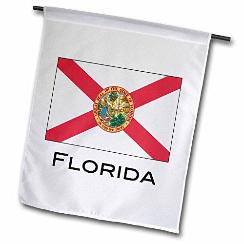3drose FL _ 107359_ 1Florida State Flagge Garten Flagge, 12von 18 (State Square Florida)