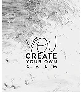 You Create your Calm 3D Hard Polycarbonate Designer Back Case Cover for Apple iPhone 6S