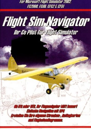 Profisoft Vertriebs GmbH Flight Simulator 2002 - Flight Sim Navigator