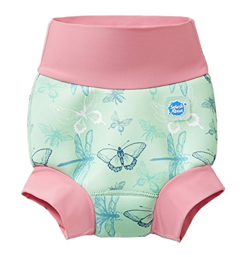 Splash About Happy Nappy Pañal de Baño Reutilizable - Dragonfly 6-12 Meses