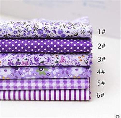 Kidly Baumwolle gedruckten Stoff nähen für Patchwork nähen DIY Handgemachten Accessoires 5-7pc 25x25cm