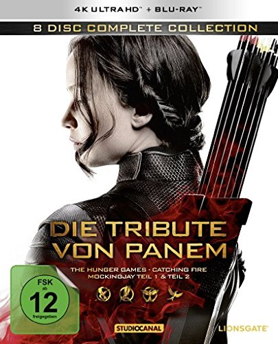 Die Tribute von Panem (Complete Collection) - Ultra HD Blu-ray [4k + Blu-ray Disc]