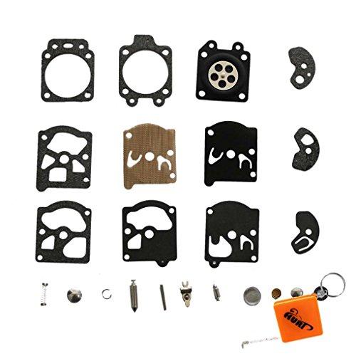 HURI Vergaser Reparatursatz Kit Membrane Dichtung für Walbro WA WT Vergaser K10-WAT DOLMAR 103 105 108 111 Solo 610 Stihl FS40 FS44 FS85 FS88 FS106 FS180