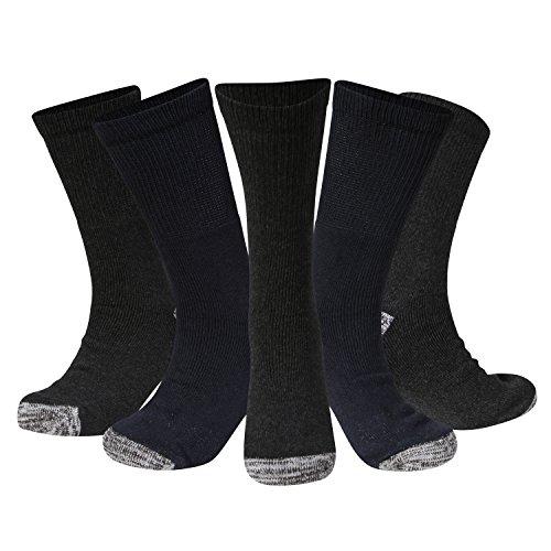 Kensington Herren Socken 39-45 Gr. 39-45, Black/Navy/Grey Wellington Magnum
