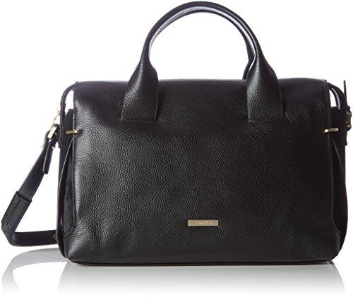 Calvin-Klein-Victori4-Duffle-Womens-Handbag-Schwarz-Black-16x205x32cm-wxhxd