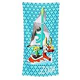 Asciugamano da spiaggia Zelda Asciugamano da spiaggia King of Red Lions Asciugamano da spiaggia per parrucchiera Nintendo Elven Forest 71x140cm