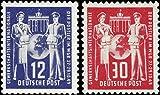 Briefmarken DDR 1949, Mi. Nr. 243-244, Postgewerkschaft, Postfrisch