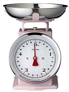 Bilancia da cucina/Rosa/22,3 x 16,5 x 25,5 cm/max. 5 kg