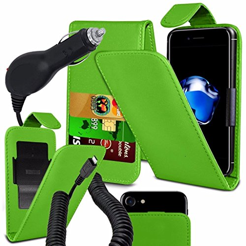 coolpad-rogue-case-super-essentials-pack-clamp-spring-style-cuir-pu-wallet-chargeur-green