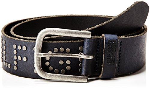 Hilfiger Denim Studded Belt 8, Cintura Uomo, Blu (Navy Blazer Pt), 110 cm