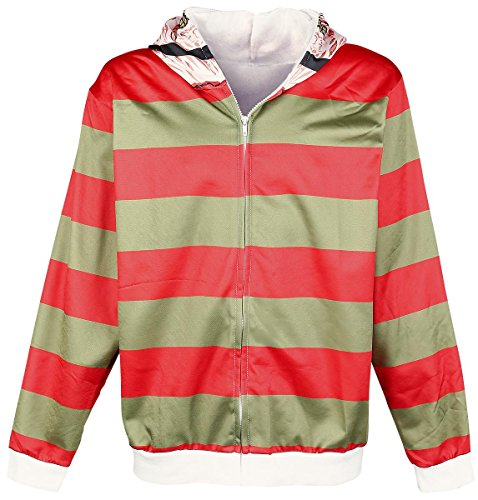 Nightmare On Elm Street Freddy Krueger Hooded zip multicolour