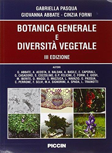 Botanica generale e biodiversità vegetale
